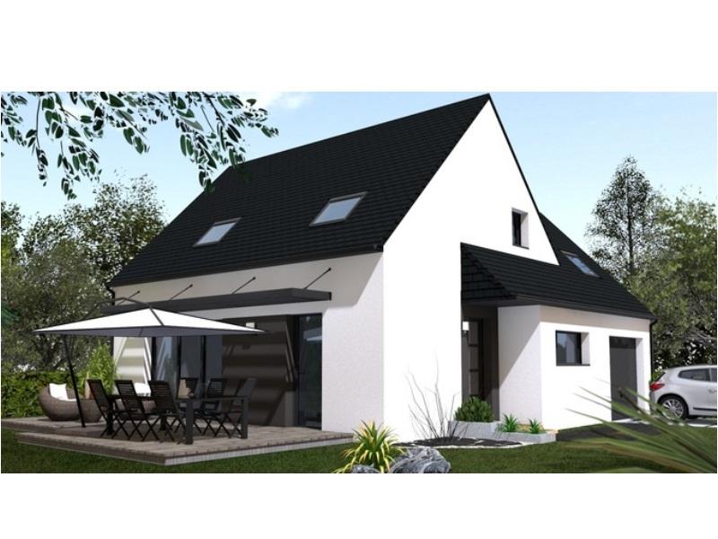 Maison+Terrain de 6 pièces avec 4 chambres à Lanmeur 29620 – 170600 €