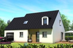 Maison+Terrain de 5 pièces avec 4 chambres à Plourin lès Morlaix 29600 – 185200 €