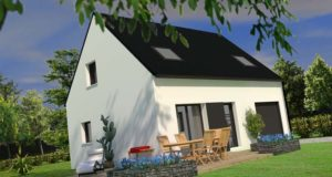 Maison+Terrain de 4 pièces avec 3 chambres à Lanmeur 29620 – 141500 €