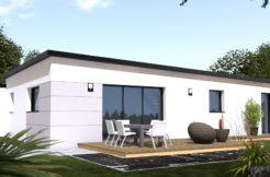 Maison+Terrain de 6 pièces avec 4 chambres à Plourin lès Morlaix 29600 – 183600 €
