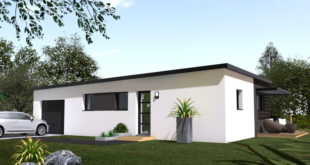 Maison+Terrain de 4 pièces avec 2 chambres à Carantec 29660 – 177600 € - EPA-18-01-05-109