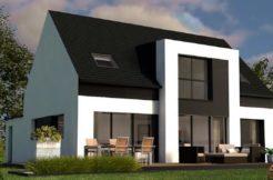 Maison+Terrain de 6 pièces avec 4 chambres à Ploeren 56880 – 280525 € - YM-19-06-11-39