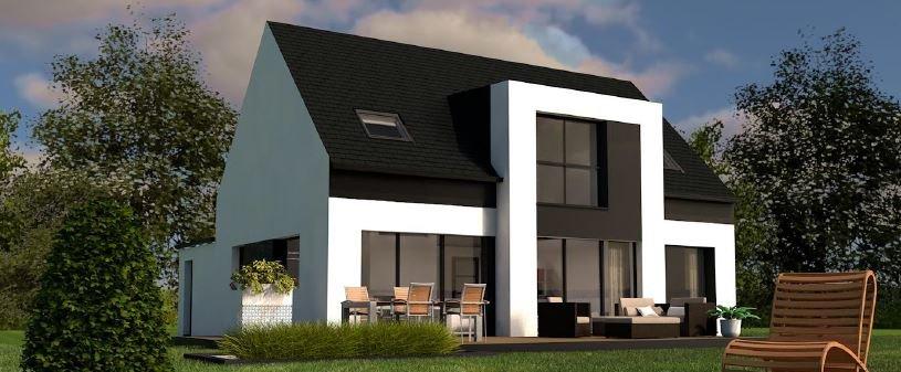 Maison+Terrain de 6 pièces avec 4 chambres à Ploeren 56880 – 280525 € - YM-19-06-11-7