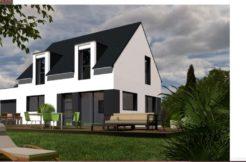 Maison+Terrain de 6 pièces avec 4 chambres à Saint Avé 56890 – 207176 € - YM-18-08-03-65