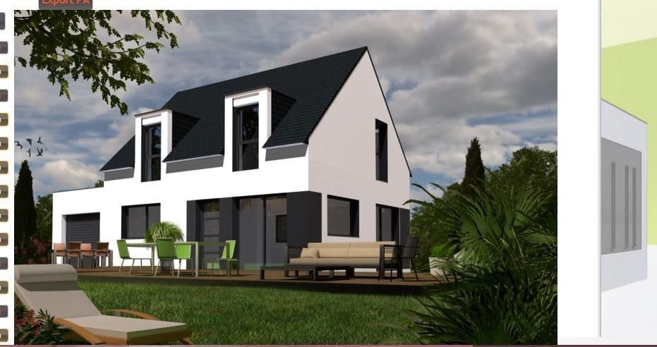 Maison+Terrain de 6 pièces avec 4 chambres à Saint Avé 56890 – 192176 € - YM-18-07-31-58