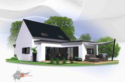Maison+Terrain de 6 pièces avec 4 chambres à Hennebont 56700 – 230000 € - SLG-19-10-16-8