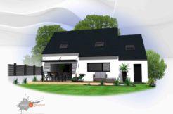 Maison+Terrain de 6 pièces avec 4 chambres à Cléguer 56620 – 210000 € - SLG-19-10-15-3