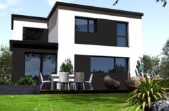 Maison+Terrain de 5 pièces avec 3 chambres à Saint Thégonnec 29410 – 174630 €