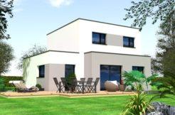 Maison+Terrain de 6 pièces avec 4 chambres à Saint Thégonnec 29410 – 174630 €