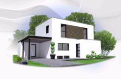 Maison+Terrain de 6 pièces avec 4 chambres à Saint Thégonnec 29410 – 187630 €