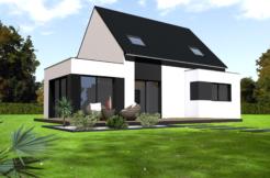 Maison+Terrain de 6 pièces avec 4 chambres à Landivisiau 29400 – 170320 €