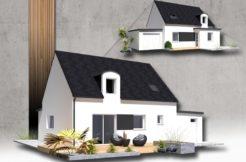 Maison+Terrain de 6 pièces avec 4 chambres à Saint Thégonnec 29410 – 167630 €