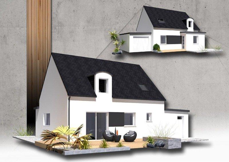 Maison+Terrain de 6 pièces avec 4 chambres à Plougasnou 29630 – 162850 € - SME-18-07-18-112