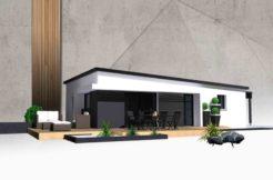 Maison+Terrain de 5 pièces avec 3 chambres à Saint Thégonnec 29410 – 136350 €