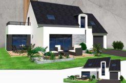 Maison+Terrain de 7 pièces avec 5 chambres à Hennebont  – 250000 € - SLG-19-08-13-6