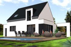 Maison+Terrain de 5 pièces avec 4 chambres à Inzinzac Lochrist 56650 – 186000 € - GMA-19-03-04-108