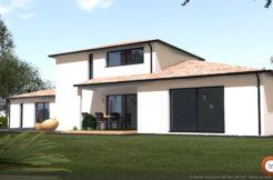 Maison+Terrain de 5 pièces avec 4 chambres à Saint Pierre de Lages 31570 – 308350 €
