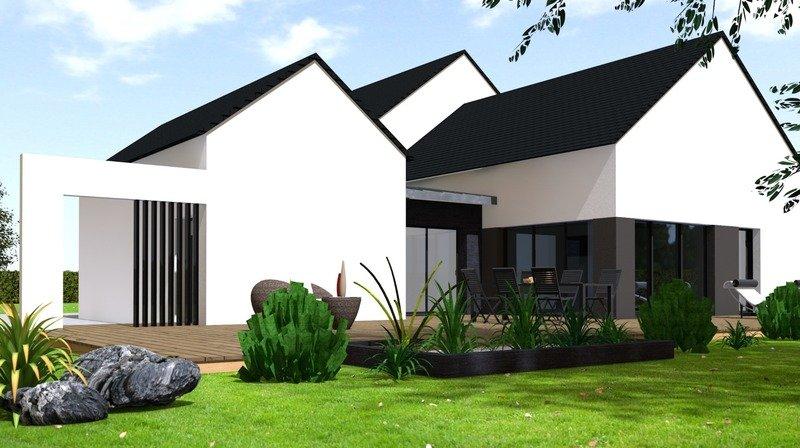 Maison+Terrain de 6 pièces avec 3 chambres à Saint Méloir des Ondes 35350 – 338000 € - GBL-18-06-20-6