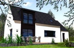 Maison+Terrain de 5 pièces avec 4 chambres à Aucaleuc 22100 – 183000 €