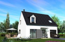 Maison+Terrain de 5 pièces avec 3 chambres à Saint Mars du Désert 44850 – 213800 € - BF-18-07-13-3