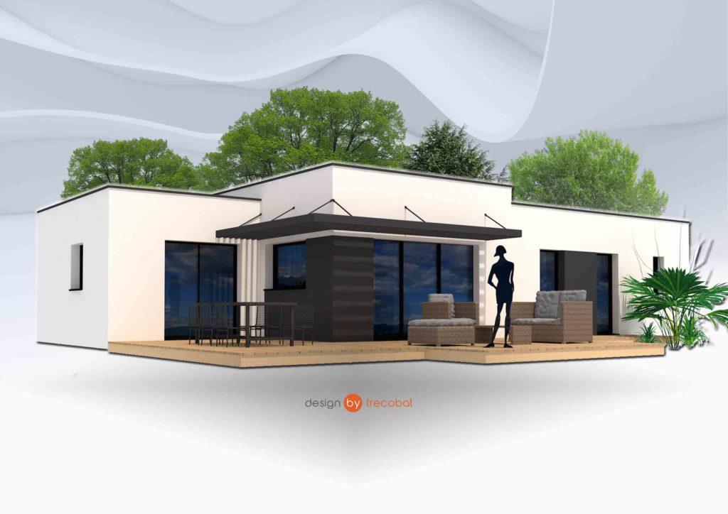 Maison+Terrain de 5 pièces avec 3 chambres à Plonéour Lanvern 29720 – 180721 €