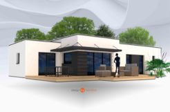 Maison+Terrain de 5 pièces avec 3 chambres à Peumérit 29710 – 173501 € - ISE-19-09-03-11