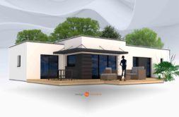 Maison+Terrain de 5 pièces avec 3 chambres à Plomelin 29700 – 195676 € - ISE-19-09-03-41