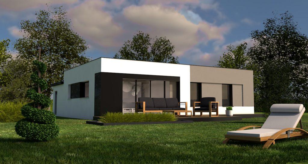 Maison+Terrain de 5 pièces avec 3 chambres à Rosporden 29140 – 153700 €