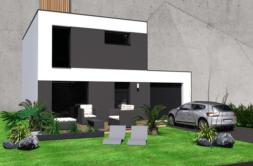 Maison+Terrain de 4 pièces avec 3 chambres à Inzinzac Lochrist 56650 – 194244 € - GMA-19-09-05-69
