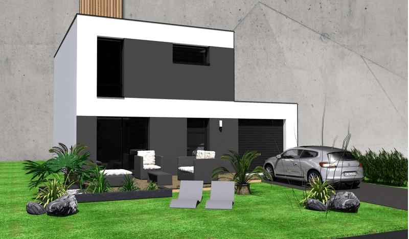 Maison+Terrain de 4 pièces avec 3 chambres à Nostang 56690 – 209000 € - GMA-18-07-04-103