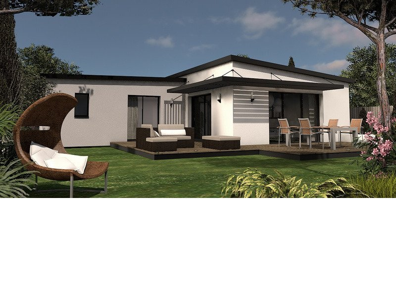 Maison+Terrain de 5 pièces avec 3 chambres à Saint Évarzec 29170 – 208000 € - CCR-18-07-16-12