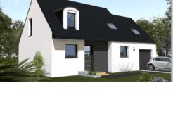 Maison+Terrain de 6 pièces avec 4 chambres à Inzinzac Lochrist 56650 – 188500 €