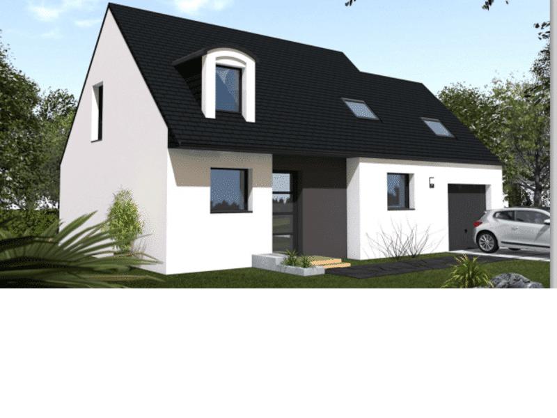 Maison+Terrain de 6 pièces avec 4 chambres à Inzinzac Lochrist 56650 – 188500 € - GMA-19-03-04-111