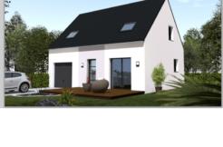 Maison+Terrain de 4 pièces avec 3 chambres à Hennebont 56700 – 155500 € - GMA-18-05-10-29