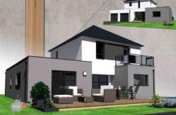 Maison+Terrain de 6 pièces avec 4 chambres à Guidel 56520 – 413608 € - GMA-19-03-04-160