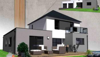 Maison+Terrain de 6 pièces avec 4 chambres à Guidel 56520 – 390000 € - GMA-19-03-04-75