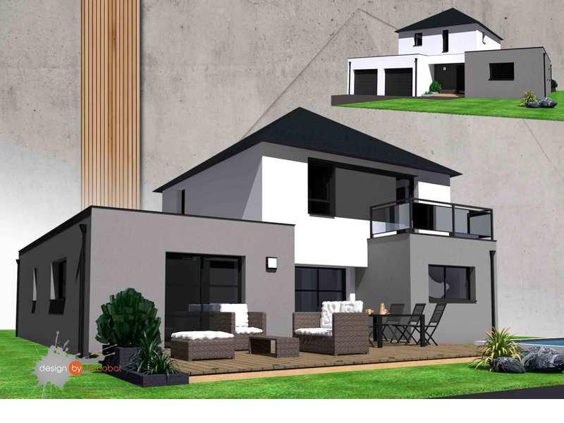 Maison+Terrain de 6 pièces avec 4 chambres à Riantec 56670 – 295000 €