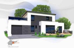 Maison+Terrain de 5 pièces avec 4 chambres à Guidel 56520 – 344920 € - GMA-19-09-05-42