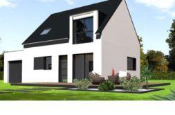 Maison+Terrain de 5 pièces avec 4 chambres à Lorient 56100 – 229469 € - GMA-19-12-05-4
