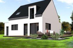 Maison+Terrain de 5 pièces avec 4 chambres à Riantec 56670 – 180000 €