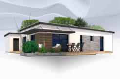 Maison+Terrain de 4 pièces avec 2 chambres à Rosporden 29140 – 189200 €