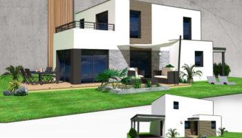Maison+Terrain de 6 pièces avec 4 chambres à Touches 44390 – 228000 €