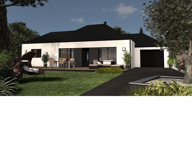 Maison de 97m2 avec 4 pièces dont 2 chambres - M-MR-170804-5065