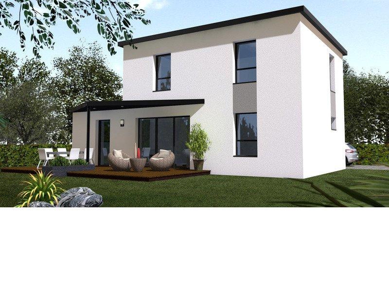 Maison+Terrain de 5 pièces avec 4 chambres à Pleuven 29170 – 215727 €