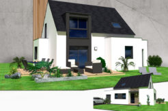 Maison+Terrain de 6 pièces avec 4 chambres à Plonéour Lanvern 29720 – 186115 € - ISE-18-12-24-47
