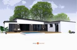 Maison+Terrain de 6 pièces avec 4 chambres à Plonéour Lanvern 29720 – 224570 € - ISE-18-12-24-107