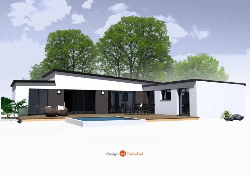 Maison+Terrain de 6 pièces avec 4 chambres à Plonéour Lanvern 29720 – 224820 € - ISE-18-12-24-112