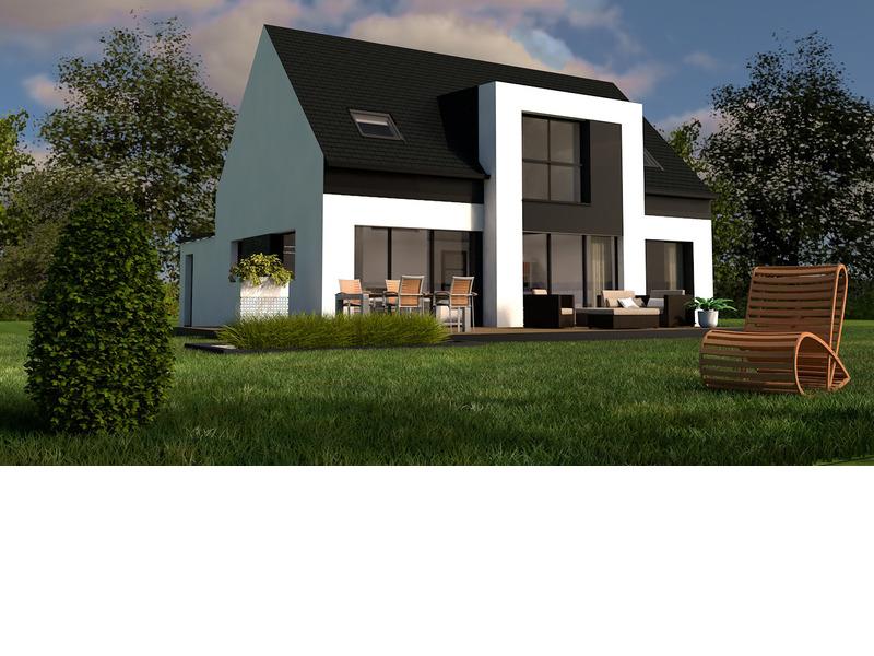 Maison de 121m2 avec 6 pièces dont 4 chambres - M-MR-170804-5078
