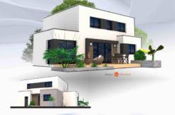 Maison+Terrain de 6 pièces avec 4 chambres à Locmaria Plouzané 29280 – 236000 € - GLB-18-07-06-29