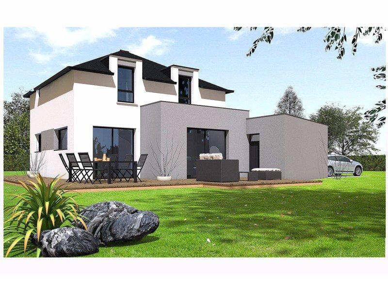 Maison+Terrain de 5 pièces avec 4 chambres à Aucaleuc 22100 – 229300 €